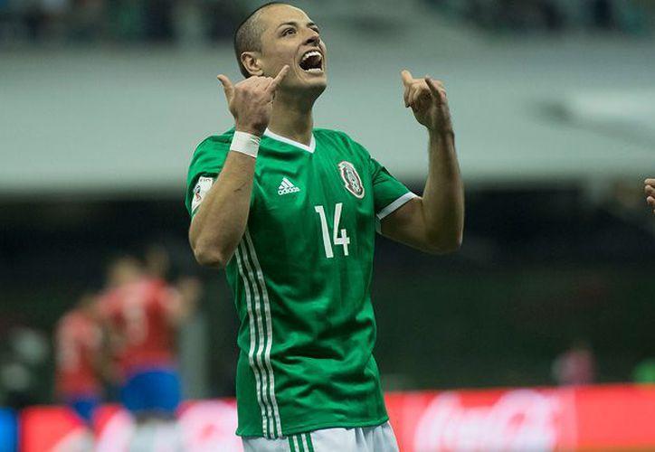 'Chicharito' Hernández llega a la legendaria cifra de 46 goles con la selección mexicana. (Récord)