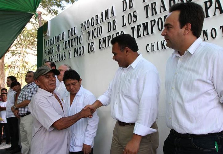 El gobernador Rolando Zapata cierra el año con giras de trabajo. (Cortesía)
