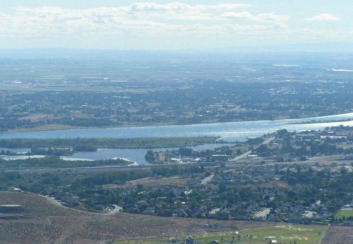 Panorámica de Pasco, Washington, donde ocurrió el incidente en el que murió un ciudadano mexicano. Imagen de contexto. (data-city.com)