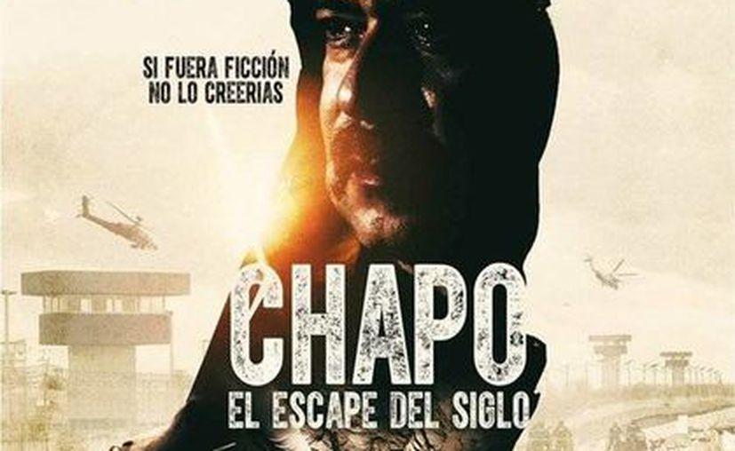 La película <i>Chapo: El Escape del Siglo</i>, dirigida por Axel Uriegas llega en el primer bimestre de 2016 a las salas de cine en México. (Twitter: @vicentegtz)