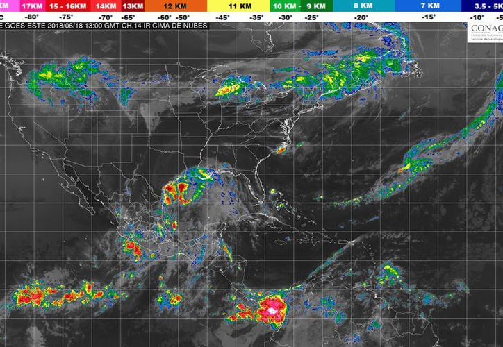 Se esperan lluvias con intervalos de chubascos en Quintana Roo. (Conagua)