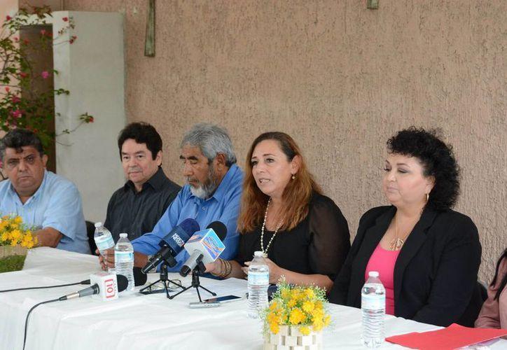 El anuncio del proyecto se dio ayer en las instalaciones de la Clínica Nazareth. (Karim Moisés/SIPSE)