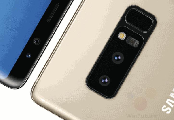 Presentan el Nuevo Galaxy Note 8 próximo a la venta (Foto: Vanguardia)