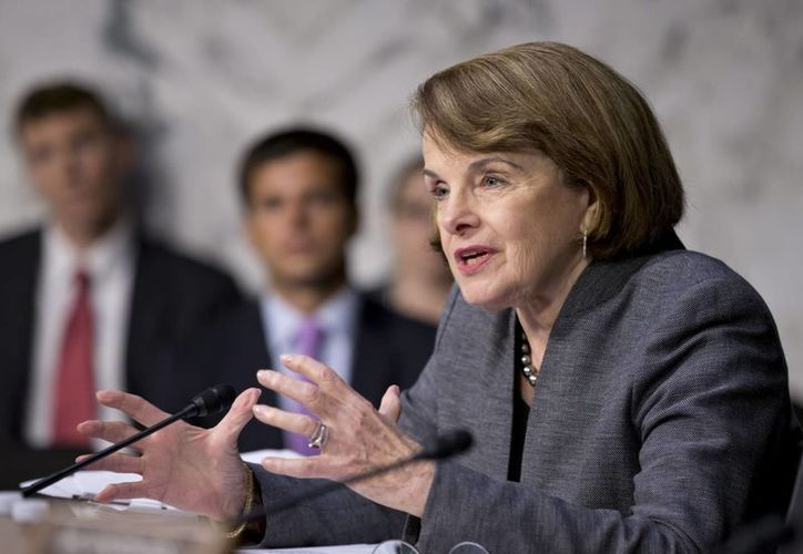 Feinstein anunció que el Senado revisará el programa de inteligencia de EU. (Agencias)