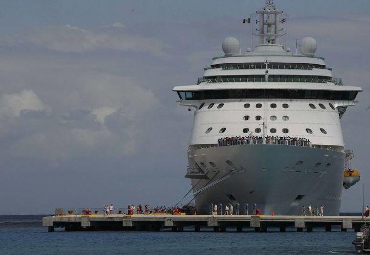 Con la llegada de las 23 embarcaciones, marzo cerraría con 114 arribos de cruceros. (Redacción/SIPSE)
