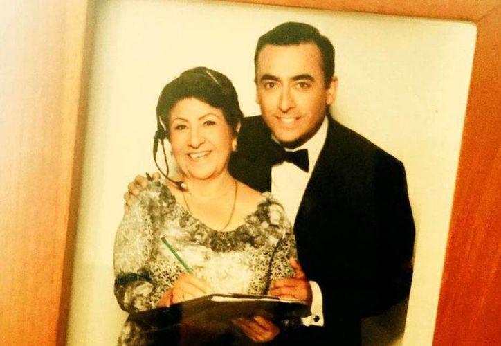 Teresa Martínez, madre de Adal Ramones, falleció este domingo, a los 80 años de edad, víctima del cáncer. (Instagram @adalramones)