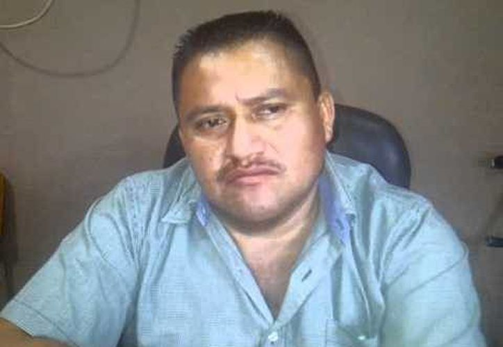 El profesor Nicolás Robles Pineda, delegado del SNTE en Guerrero, asesinado anoche a las puertas de su domicilio, en Acapulco. (Foto: YouTube)