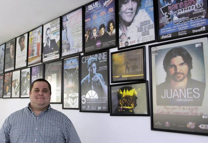 Rodrigo Arjona Marcín, especialista en organización de eventos. (Juan Albornoz/SIPSE)