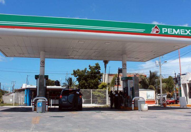 El bloquearán a las estaciones de gasolina se realizará en los 11 municipios. (Luis Soto/SIPSE)