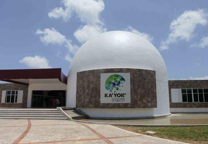 Planetario de Cancún Ka' Yok, ha recibido casi medio millón de visitantes. (Archivo/SIPSE)