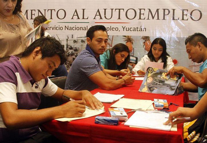 Yucatán registra uno de los menores índices de desempleo en el país desde hace varios meses. (Foto: Milenio Novedades)
