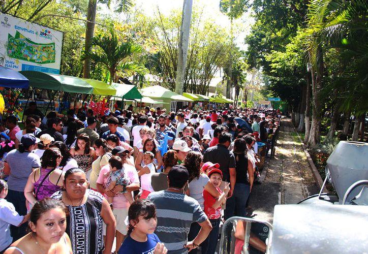 Más de 100 mil personas visitaron el Parque del Centenario el fin de semana. (Foto: Milenio Novedades)