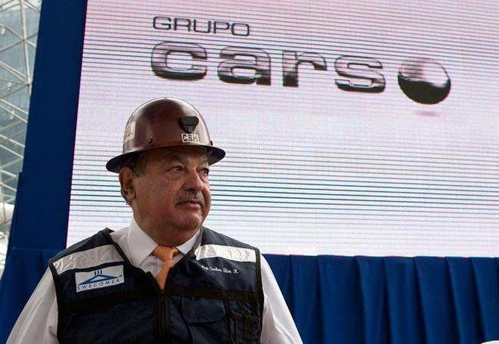 Carlos Slim considera que con las reformas se habla de la importancia de la banda ancha. (obrasweb.mx)