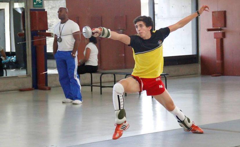 Las alegrías siguen para México pues Ricardo Vera ganó la decimo tercer medalla para la delegación en la prueba de pentatlón en Nanjing. (deporte.gob.mx/Foto de archivo)