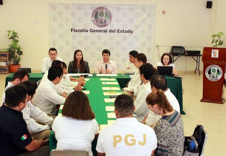 Se realizó en Yucatán la segunda mesa de la Segunda Mesa de Trabajo de la Región Sureste de las Unidades Especializadas en el Combate al Secuestro. (Oficial)