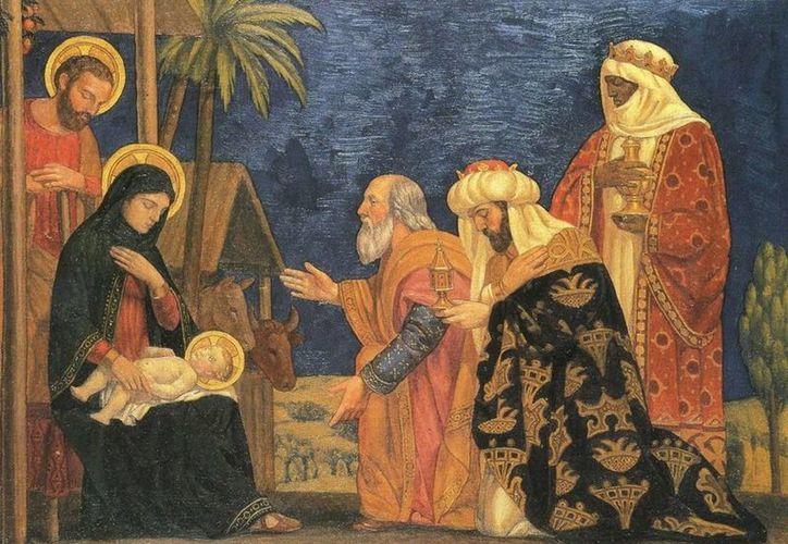 'La Adoración de los Magos' (1915), obra de Henry Siddons Mowbray, pintor estadounidense.  (adarve5.com)