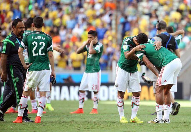 La Selección mexicana quedó fuera de los cuartos de final. (Notimex)