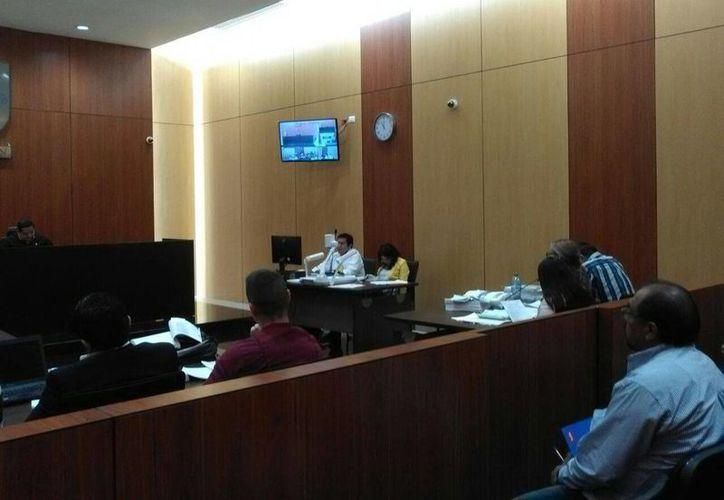 El primer juicio oral por un feminicidio se inició hoy en Yucatán. La Fiscalía busca 50 años de cárcel para el inculpado. (Luis Fuente/SIPSE)