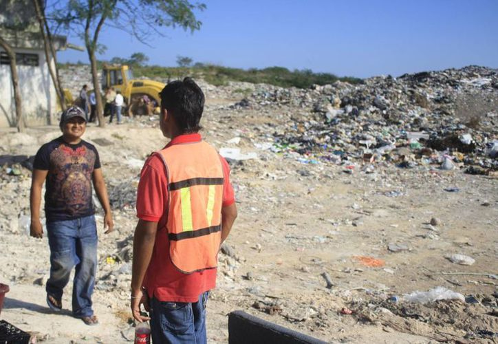 Autoridades municipales se deslindaron de las nuevas condiciones laborales de los pepenadores. (Harold Alcocer/SIPSE)