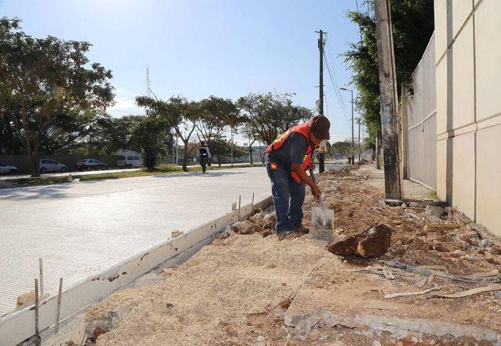Priistas denuncian que la pavimentación con concreto hidráulico de la calle 60 norte no fue propuesta al Consejo Municipal para ser analizada. (Archivo SIPSE)