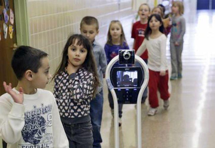 Solo un puñado de estudiantes han utilizado el robot desde su presentación en 2011. (Agencias)