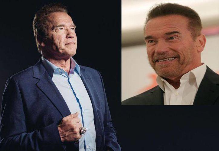 Al parecer Arnold Schwarzenegger 'se tragó unos años' ya que lució un aspecto más juvenil en una reciente aparición pública. (Imágenes/ AP)