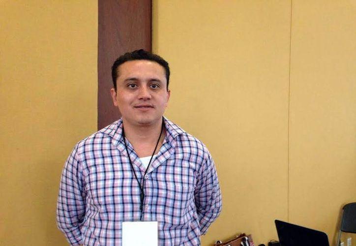 Camilo Salomón López, alcalde de Ticul, quien solicitará recursos al gobierno federal para iniciar las obras que desarrollará durante los próximos tres años. (SIPSE)