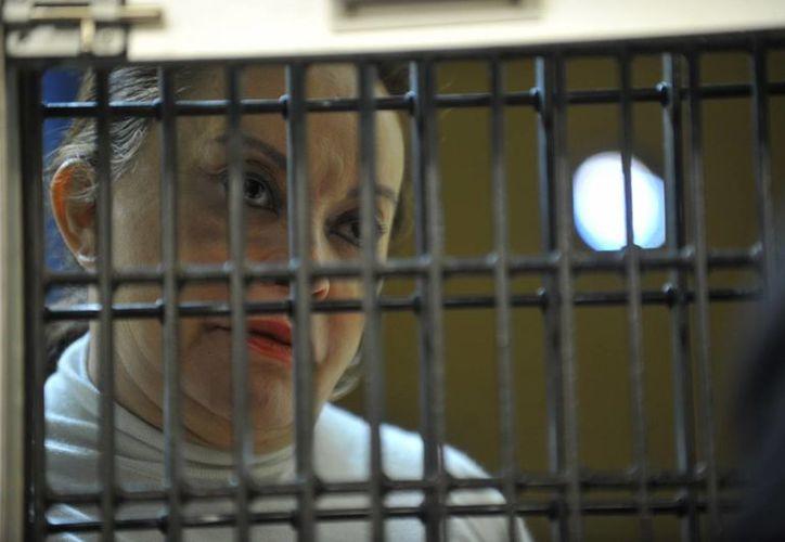 Gordillo Morales fue detenida el pasado 26 de febrero en el Aeropuerto Internacional de Toluca. (Archivo/Notimex)