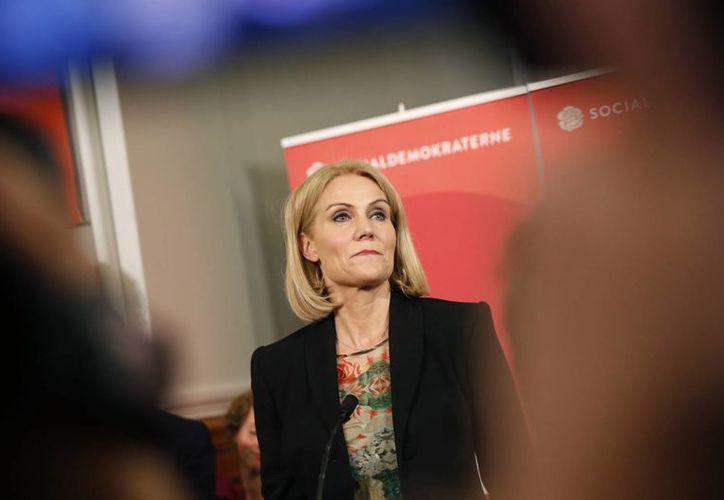 Imagen de Helle Thorning-Schmidt, quien dejó el cargo de primera ministra de Dinamarca este viernes. (Agencias)