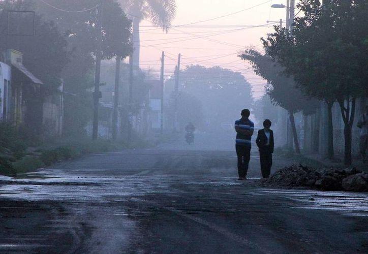 Conagua pronostica que el descenso de temperatura en Yucatán se sentirá más intenso el domingo. (José Acosta/SIPSE)
