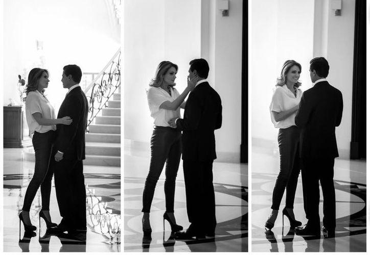 Enrique Peña Nieto le agradeció a Angélica Rivera por su amor. (Facebook/Enrique Peña Nieto)