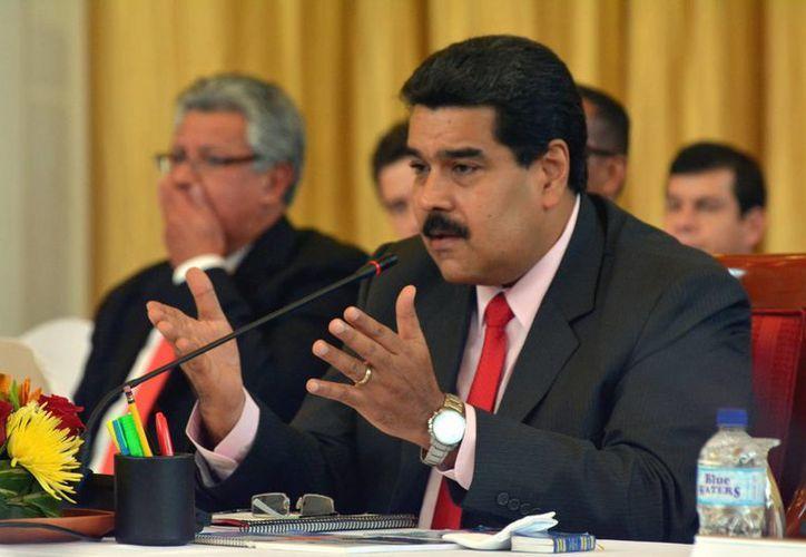 Nicolás Maduro se sumó a la ola de críticas sobre la 'Pelea del Siglo'. (EFE)