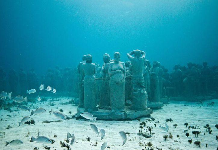 El Parque Marino de Cancún-Isla Mujeres, es una de las zonas marinas más visitadas en el mundo. (Contexto/ SIPSE)