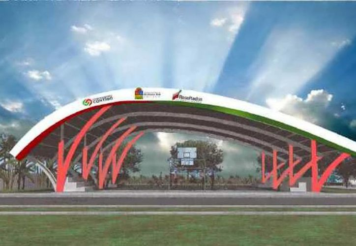 Los domos estarán ubicados en el paque Las Gradas y en el parque San Gervasio. (Redacción/SIPSE)