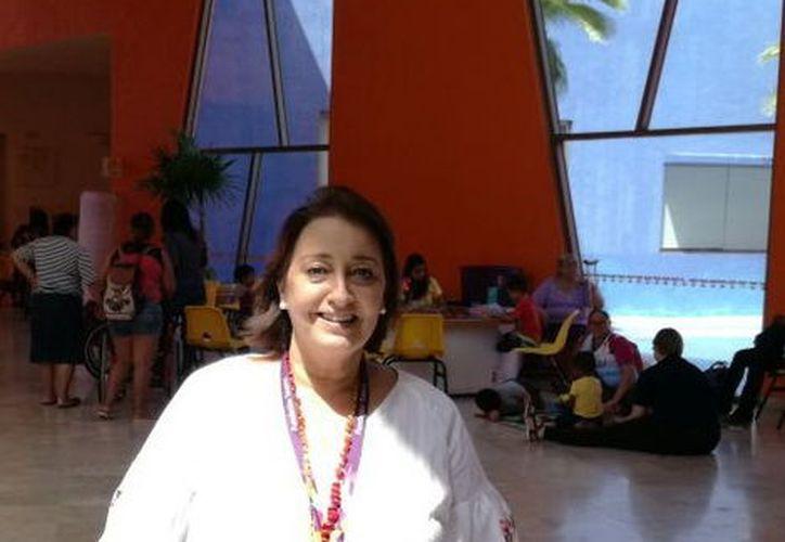 Dolores Sánchez de Rojas, directora general del CRIT Yucatán. (Milenio Novedades)