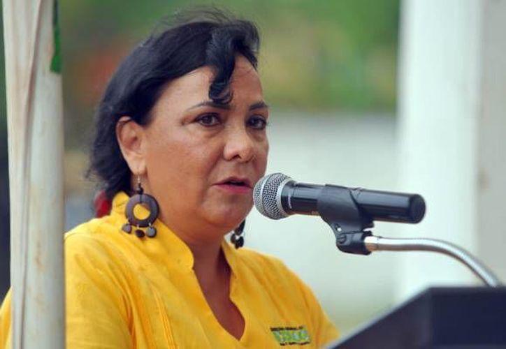 La diputada Graciela Saldaña pidió licencia a su cargo como diputada.  (SIPSE)