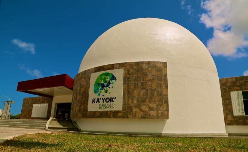 """El conjunto de actividades del Planetario de Cancún se llama: """"Ánimas y Estrellas"""". (Foto de Contexto/Internet)"""