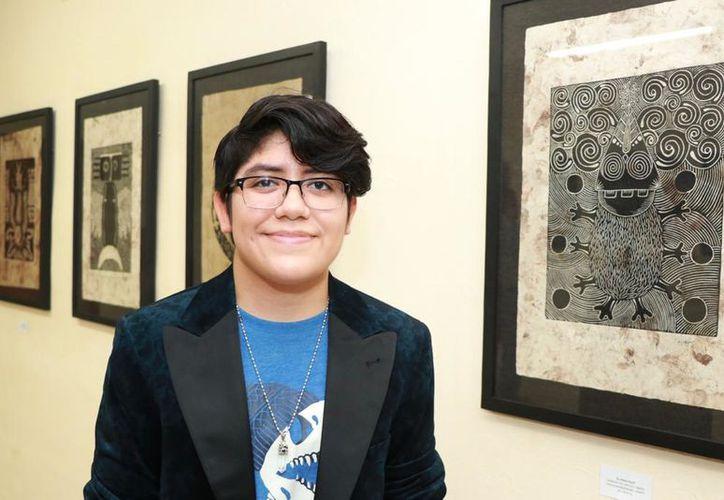 Alma Citlalli presenta sus obras en el Teatro Libertad. (Novedades Yucatán)