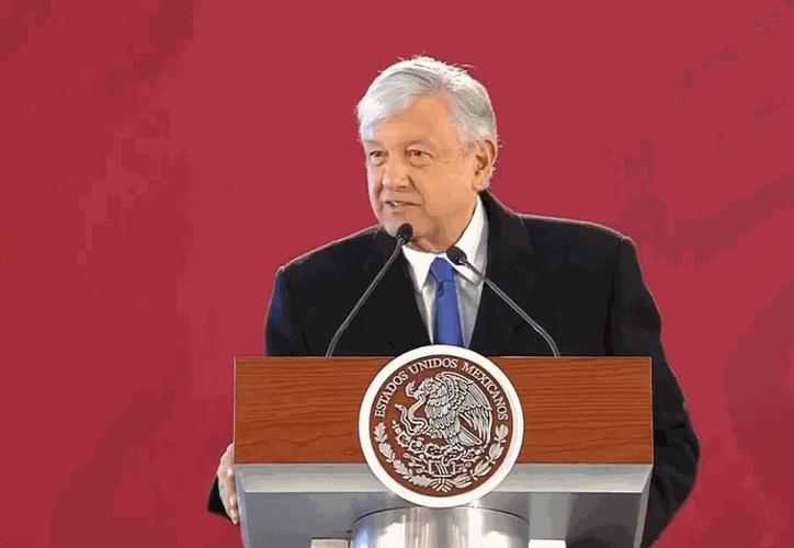 López Obrador reconoció que le hubiera gustado que todos los partidos aprobaran su propuesta. (Internet)