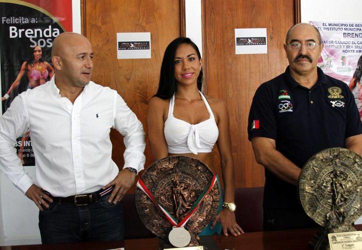 Brenda Sosa conquistó el primer lugar del Campeonato Nacional Selectivo, que le otorgó el pase a la competencia que se realizará en Pittsburg. (Francisco Gálvez/SIPSE)