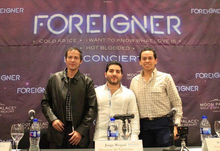 """Los conciertos del """"Foreigner"""" en el Moon Palace Arena, serán los días 4 y 5 de marzo. (Luis Soto/SIPSE)"""