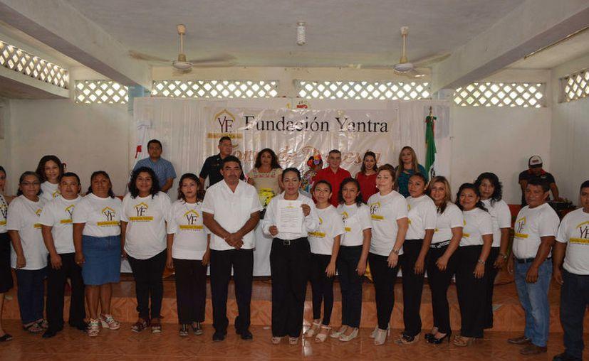 Formalizan la asociación civil en el municipio morelense. (Alejandro Poot/SIPSE)