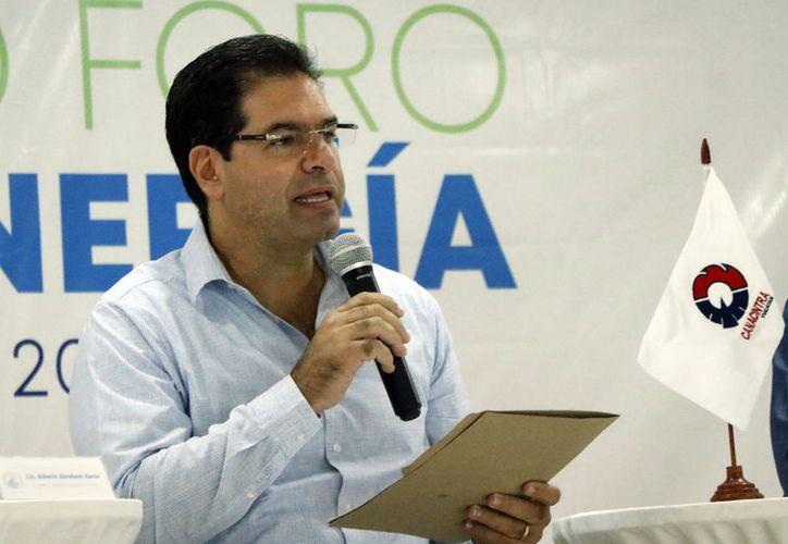 """Alberto Abraham Xacur, promotor del proyecto """"Hecho en Yucatán"""", que va en franco crecimiento. (José Acosta/Novedades Yucatán)"""