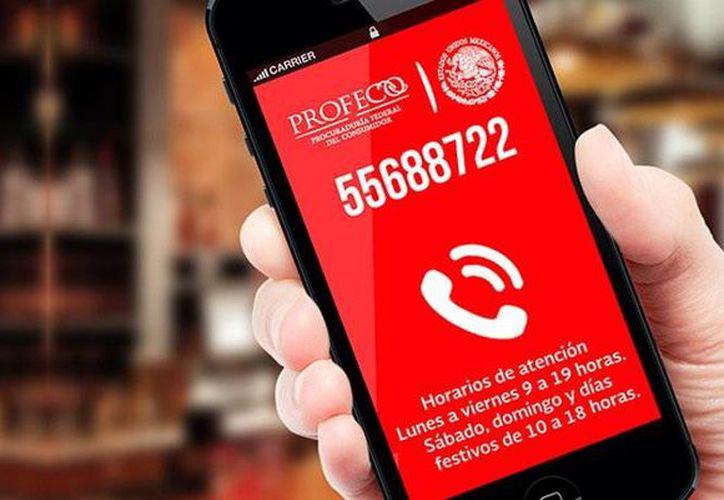 La profeco lanza un nuevo módulo digital Concilianet, donde los  cibernautas pueden presentar sus quejas de manera digital y en formato electrónico. La dependencia seguirá dando servicio en el Teléfono del Consumidor. (@Profeco)