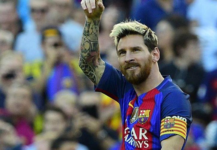 Lionel Messi, donó un millón y medio de pesos a la organización Médicos sin Fronteras. (Foto: Eurosport)