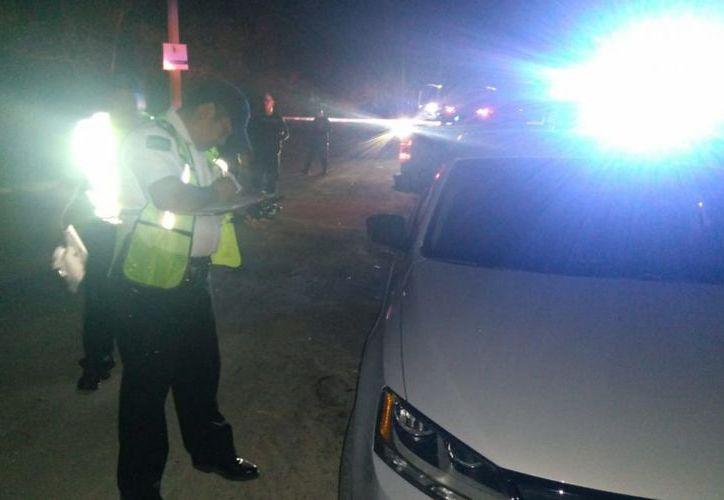 Han realizado operativos en todo el Estado para detectar vehículos robados. (Joel Zamora/SIPSE)