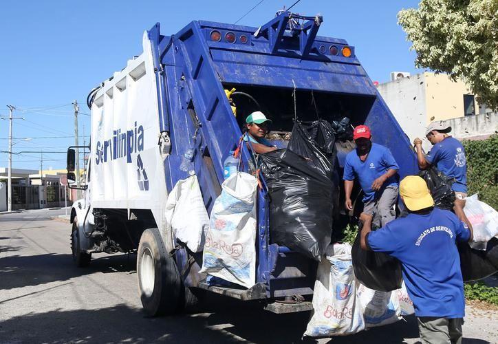 Lunes 5 de febrero, la empresa Servilimpia no brindará servicio en diversas colonias de Mérida. (SIPSE)