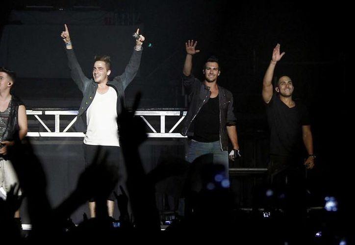 La boy band y Victoria Justice sed presentarán el 11 de febrero en la Arena Ciudad de México; el 12 en el Auditorio Telmex, de Guadalajara; y el 13 en la Arena Monterrey. (Archivo Notimex)