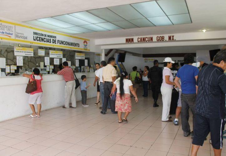 El municipio de Benito Juárez lidera por el monto de su crédito en cuenta corriente. (Jesús Tijerina/SIPSE)
