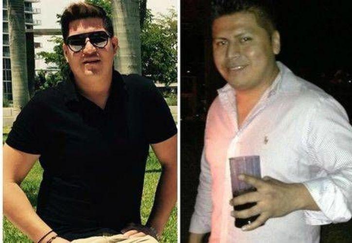 Juan Chávez Martínez y Miguel Ángel Honorato, dos de los mexicanos víctimas del ataque en un bar de Orlando Florida. (Milenio)